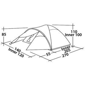 Easy Camp Quasar 200 Tent, turquoise